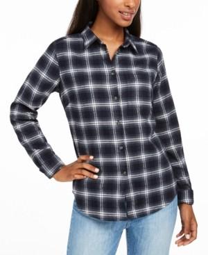 Fjallraven Ovik Cotton Plaid Flannel Shirt