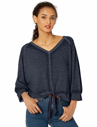 Skinnygirl Women's Florence Tie Front Knit Top