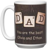 "Personal Creations Personalized ""D"" is for Dad Mug"