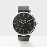 Paul Smith Men's Black 'Gauge' Watch
