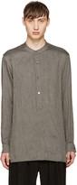 Attachment Grey Twill Tunic Shirt