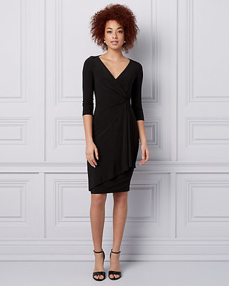 Le Château Knit Wrap-Like Dress