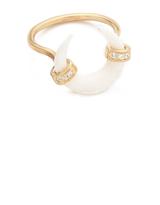 Jacquie Aiche JA Bone Double Horn Ring