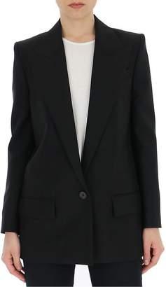 Givenchy Deep V Neck Single Breasted Blazer