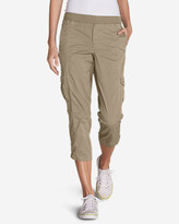 Eddie Bauer Women's Kick Back Twill Crop Pants