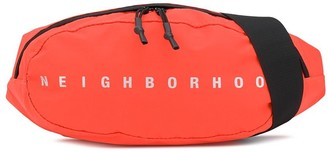 Neighborhood Logo Print Belt Bag