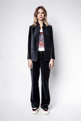 Zadig & Voltaire Volly Velvet Jacket