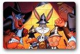 Sunrise ZY Looney Tunes Cartoons Custom Doormat (18 x 30) Inch