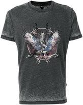 Just Cavalli graphic print T-shirt - men - Cotton/Polyester - L