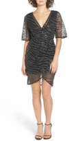 TFNC Gin Illusion Animal Print Dress