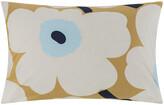 Marimekko Unikko Pillowcase - Beige/Ecru/Blue