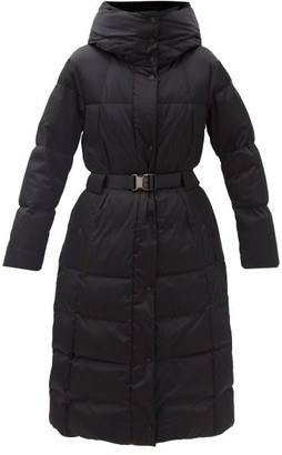 Fusalp Odette Belted Longline Down Coat - Black