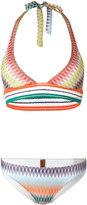 Missoni zig-zag pattern bikinis - women - Nylon/Spandex/Elastane/Rayon - 44