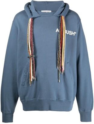 Ambush Drawstring-Embellished Hoodie