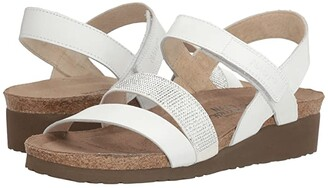 Naot Footwear Krista (Pewter Leather/Metal Leather) Women's Sandals