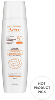 Avene Ultra-Light Hydrating Mineral Sunscreen Lotion, SPF 50+ Protection for Face and Body (4.2 OZ)