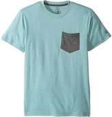 Volcom Twist Pocket Short Sleeve Tee (Big Kids)