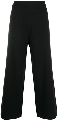 Fedeli Wide-Leg Cropped Trousers