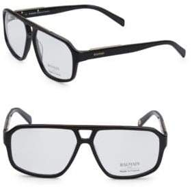 Balmain 59MM Aviator Clear Eyeglasses