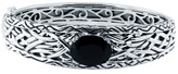 Effy Jewelry Effy 925 Lagoon Onyx Bangle, 6.84 TCW