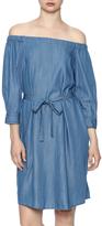 Do & Be Belted Denim Dress
