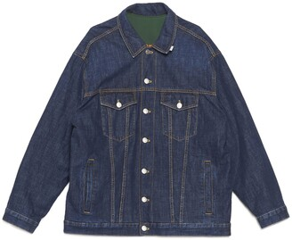 Martine Rose Reversible Denim Jacket
