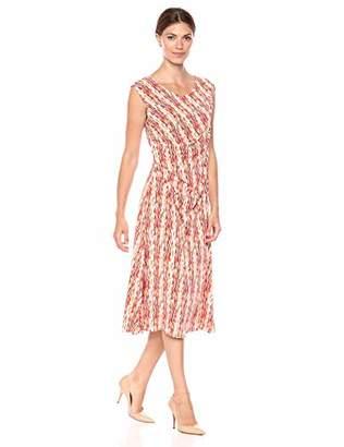 Chaus Women's S/L Sahara Sunrise Dress