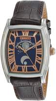 Titan Men's 1661SL01 Celestial Time Moon Phase Analog Display Analog Quartz Brown Watch