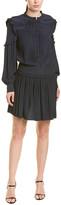 Joie Pleated Mini Dress
