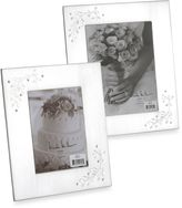 Bed Bath & Beyond 8-Inch x 10-Inch Silverplated Shimmer Frame