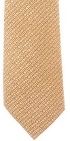 Louis Vuitton Logo Silk Jacquard Tie