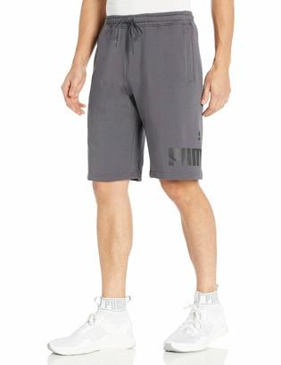 "Puma Men's Big Fleece Logo Short 10"""