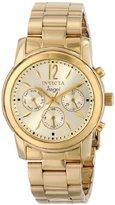 Invicta Women's 12551 Angel Analog Display Swiss Quartz Gold Watch