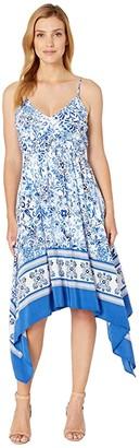 Karen Kane Border Cami Dress (Print) Women's Clothing