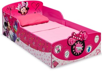 Disney Disney's Minnie Mouse Interactive Wood Toddler Bed by Delta Children