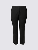 M&S Collection PLUS Slim Leg Trousers