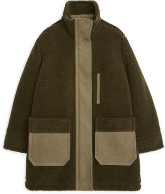 Arket Pile Moleskin Coat
