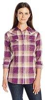 Wrangler Women's Rock 47 Long Sleeve Woven Shirt