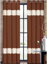 Asstd National Brand Colordrift Seismic Two-Tone Stripe Grommet-Top Curtain Panel
