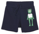 Mini Rodini Infant Boy's Frog Organic Cotton Knit Shorts