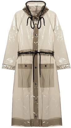 Proenza Schouler Hooded rain jacket