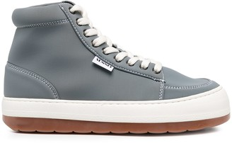 Sunnei Ankle Lace-Up Sneakers