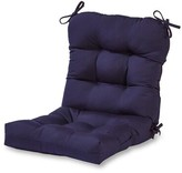 Andover Mills Sarver Indoor/Outdoor Lounge Chair Cushion Fabric: Navy