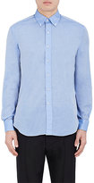 Barneys New York MEN'S COTTON VOILE DRESS SHIRT