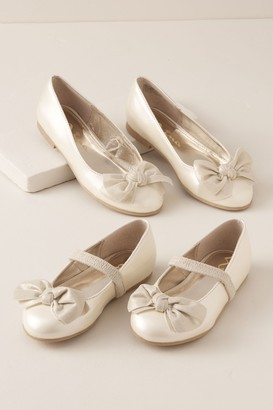 Nina Kaytelyn Flower Girl Flats