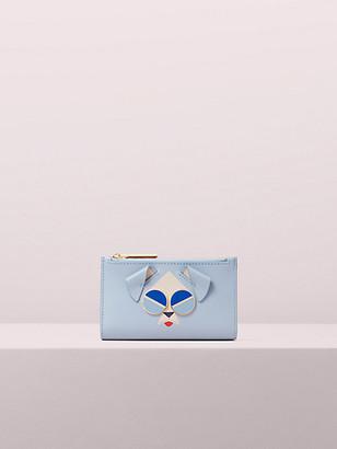 Kate Spade Spademals Mod Dog Slim Bifold Wallet
