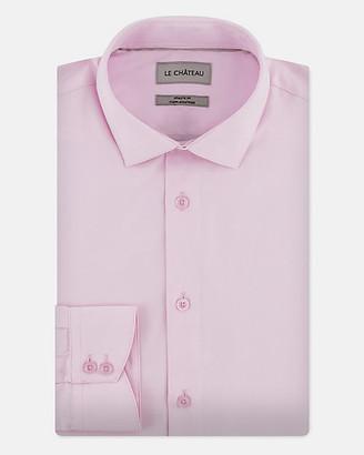 Le Château Cotton Blend Athletic Fit Shirt