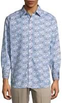 Robert Graham Men's Passaic Cotton Button-Down Shirt