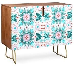 Deny Designs Pattern Spring Flourish Credenza