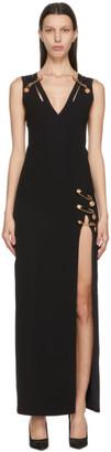 Versace Black Medusa Pin Dress